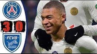 Villefranche Beaujolais Vs Paris Saint Germain 0-3 H4ighlights And Goals 07-02-2019