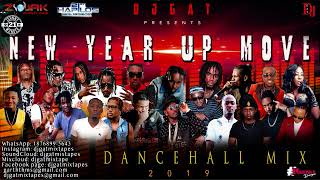 DANCEHALL MIX JANUARY 2019 DJ GAT NEW YEAR UP MOVE   FT MUNGA/VYBZ KARTEL/ALKALINE/MASICKA 899-5643