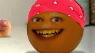 Annoying Orange: Full Kitchen Intruder Song (BACKWARDS!)