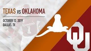 OU Highlights vs Texas (10/12/2019)