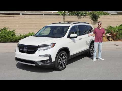 2020 Honda Pilot Elite AWD Test Drive Video Review