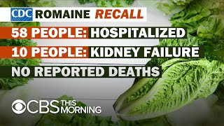E. coli outbreak linked to romaine lettuce from California