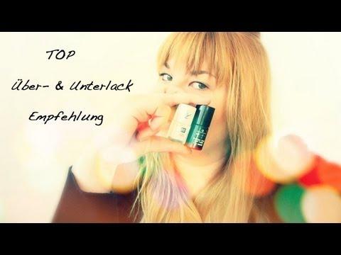 Manicure Monday: Über- & Unterlack Empfehlung!