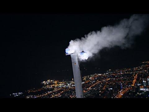 Insane Night BASE Jump From the Top of the Burj Khalifa