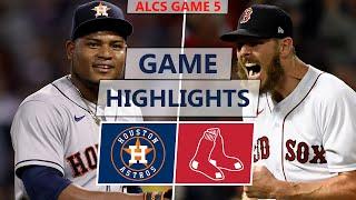 Houston Astros vs. Boston Red Sox Highlights | ALCS Game 5 (2021)