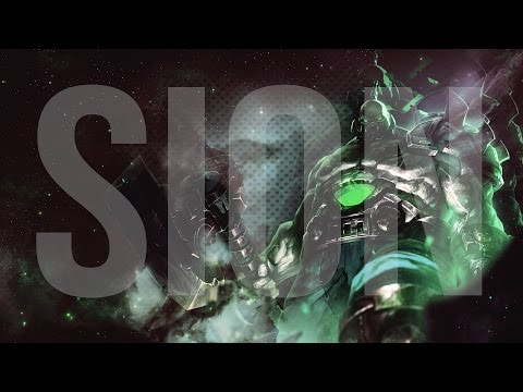 Wallpaper in Photoshop - League of Legends (Sion speedart)