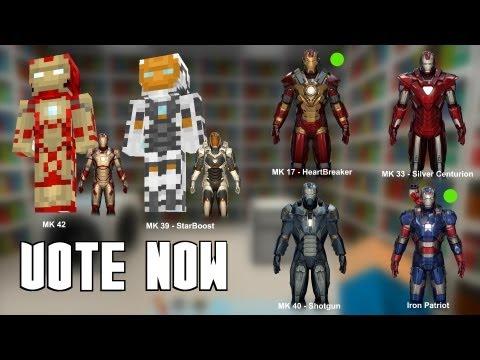 Iron Man 2 Texture pack 2 1 Minecraft Texture Pack