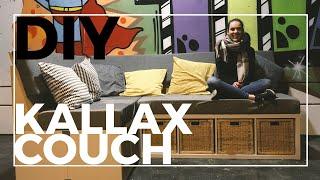 DIY Couch aus Kallax Regalen!   Ikea Hack   Sofa selber bauen
