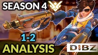 Overwatch: SEASON 4 PLACEMENTS + Short Analysis (Part 1)! Games 1 + 2