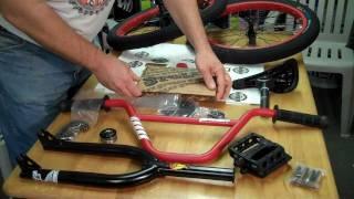 Stolen SINNER BMX Bike Parts KIT -  What's Inside