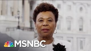 Rep. Barbara Lee: President Trump 'Ignorant' Not To Realize Complexity Of Health Care | MSNBC thumbnail