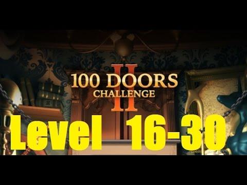100 Doors Challenge 2 - Level 16 - 30 Walkthrough - 100 Дверей сложная игра
