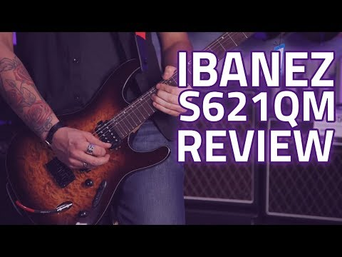 Ibanez 2017 S621QM S Standard Electric Guitar Review – Pure Power!