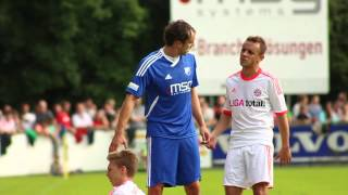 preview picture of video 'FC Ismaning - FC Bayern München 0:4 (0:1) vom 13.07.2012'