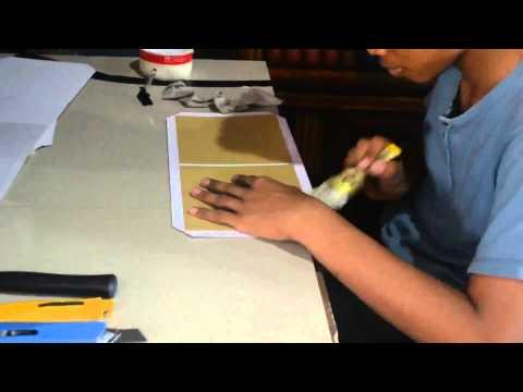 Video Proses pembuatan Undangan pernikahan  Hardcover