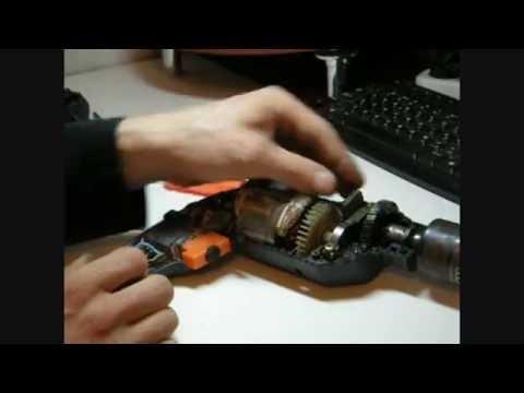 Дрель,ремонт ударной дрели,электроинструмент