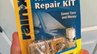 Rain-X Windshield Repair KIT - Review and How-To Video