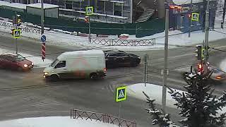 ДТП Лисицына/Мышкинский. 11.01.19.