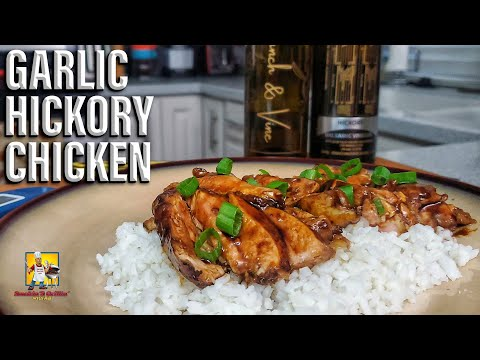Garlic Hickory Chicken with a Balsamic Glaze | Branch and Vine