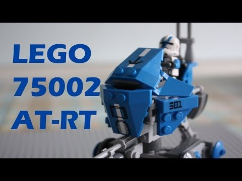 Vidéo LEGO Star Wars 75002 : AT-RT