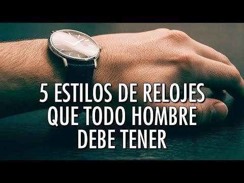 5 Estilos De Relojes Que Todo Hombre Debe Tener