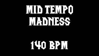 MID TEMPO MADNESS (140 BPM) FREE DRUM TRACK