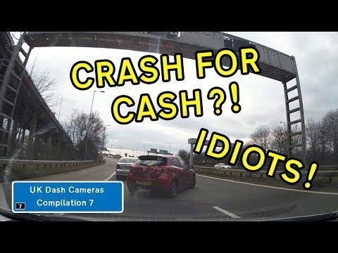 UK Dash Cameras - Compilation 7 - 2018 Bad Drivers, Crashes + Close Calls