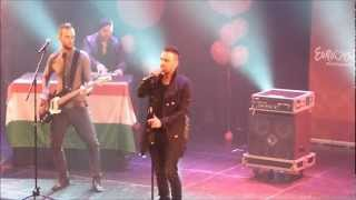 Compact Disco - Sound of our hearts - Live - Hongrie - Eurovision in Concert 2012