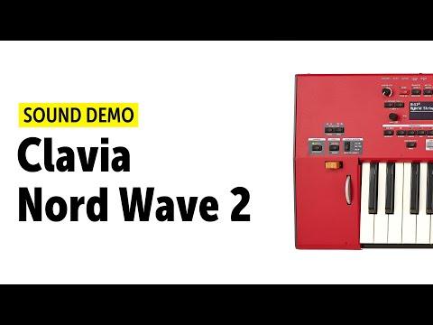 Clavia Nord Wave 2 Sound Demo (no talking) - NAMM 2020