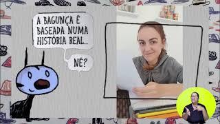 #FiqueemCasaJundiaí | Quarentena Acessível – Escrito e desenhado por Enriqueta