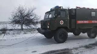 В Николаевской области за сутки 8 автомобилей освободили из «снежного плена». ВИДЕО