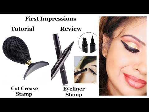 VIRAL VIDEOS & THE TRUTH II EYELINER STAMP & CUT CREASE STAMP FIRST IMPRESSIONS II TUTORIAL