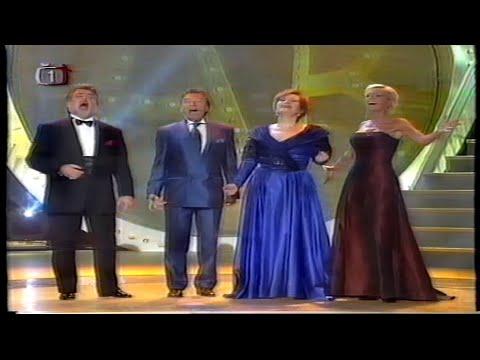Peter Dvorský, Eva Urbanová, Helena Vondráčková, Karel Gott - Medley Koncert hvězd, Silvestr 2002