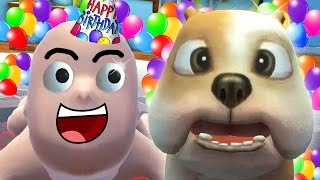 BABY GETS A PET PUPPY FOR HIS BIRTHDAY !!! 🎂🎈🎁(Who's Your Daddy Funny Moments)