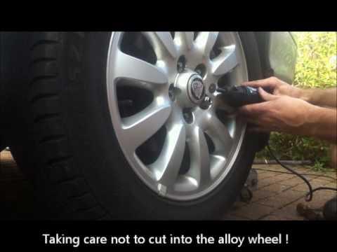 Jaguar X Type - replacing Chrome Covered Wheel Nut