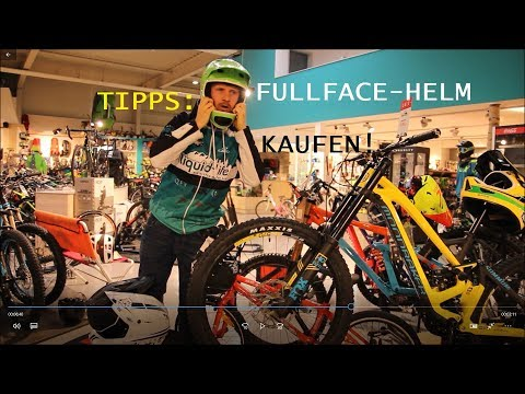 MTB Fullface Helm Beratung | Liquid-Life Ladenlokal