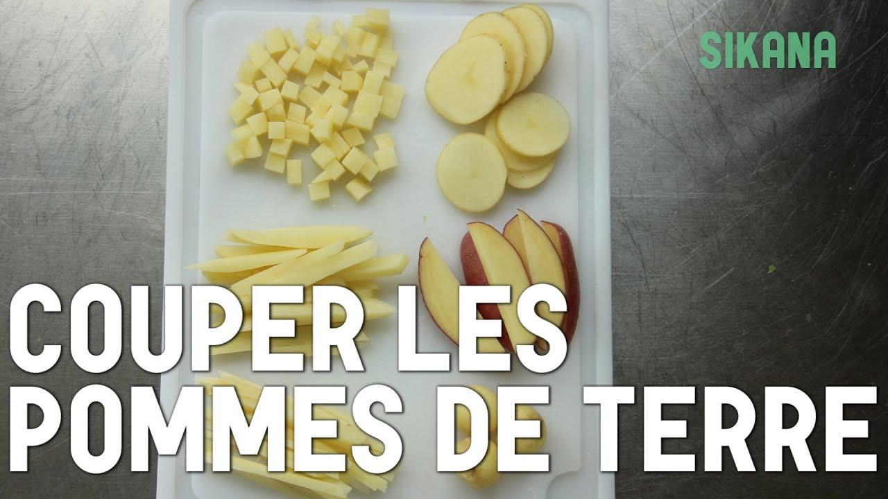 Couper des pommes de terre apprendre cuisiner les l gumes sikana - Couper des pommes en lamelles ...