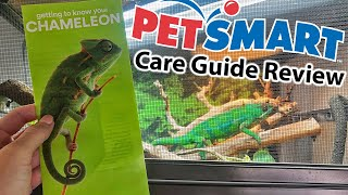 Reviewing PetSmart's chameleon care guide