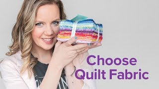 How To Choose Fabric | 3-Part Beginner Quilting Series With Angela Walters