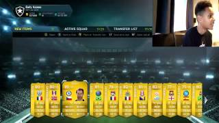 INSANE PACK OPENING WITH A TWIST!!! (FIFA 14)