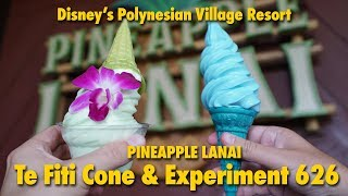 Trying Experiment 626 and Te Fiti Cone from Pineapple Lanai | Disney's Polynesian Village Resort