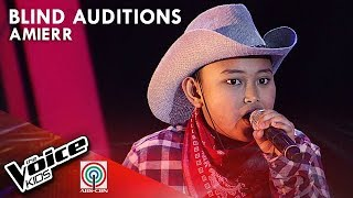 Achy Breaky Heart by Amierr Asilo | The Voice Kids Philippines Blind Auditions 2019