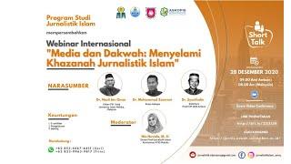 WEBINAR INTERNASIONAL PROGRAM STUDI JURNALISTIK ISLAM