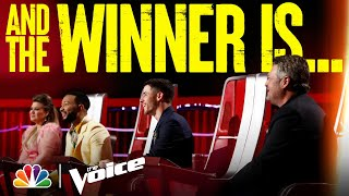 Who Will Be the Winner of The Voice? - The Voice Finale Results 2021