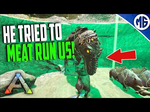 Ark PvP ROAD TO ALPHA! EP  4 LAVA BASE?!?!?! (Ark PvP Series