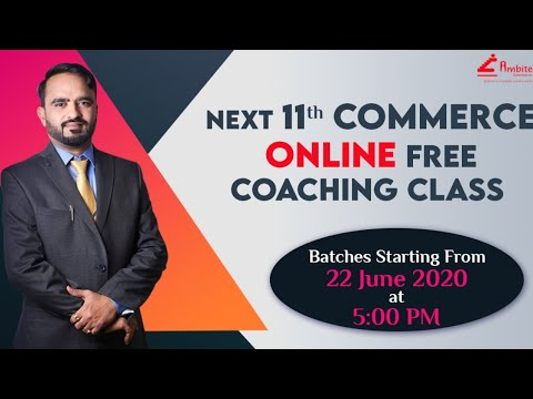 Economics- Lecture by Deepesh Sir- 11th FREE Online Classes ...