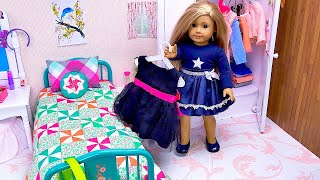 Doll Fancy Dress For Dinner At A Restaurant - Play Dolls