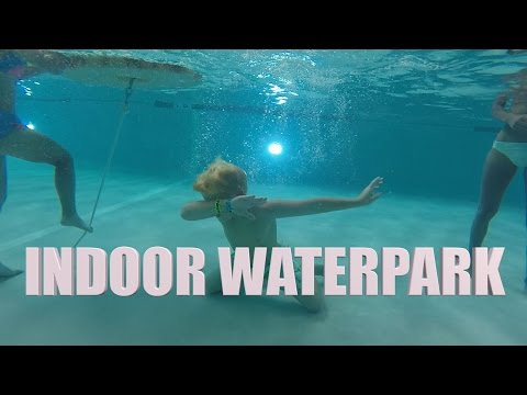 INDOOR WATERPARK FUN (GREAT WOLF LODGE)