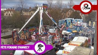 preview picture of video 'Fête foraine d'Annecy - Foire de la St André Annecy'