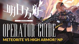 Jessica  - (Arknights) - #Arknights Guide: Sniper Series #1 - Kroos / Meteorite / Exusiai - High Armor? No Problem